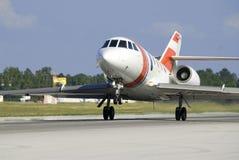 Jet lejos Foto de archivo
