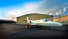 Jet listo para el despegue Imagen de archivo