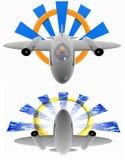 Jet Logo Stock Image