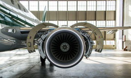 Jet Maintenance Stock Image