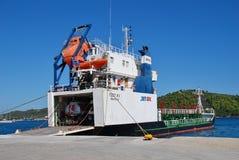Jet Oil XV tanker, Skiathos Royalty Free Stock Photo