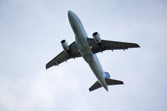 Jet overhead Royalty Free Stock Images