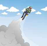 Jet pack Stock Photos