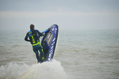 Jet Pilot Watercraft Competition Imagem de Stock