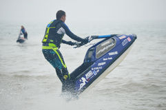 Jet Pilot Watercraft Competition royalty free stock photography