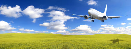 Jet plane Stock Photography
