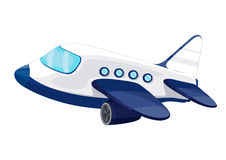 Jet plane. Illustration of private jet plane Royalty Free Stock Photography