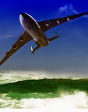 The jet plane Stock Photo