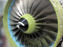 Jet/ plane engine, turbine... Jet engine - close-up view Royalty Free Stock Image