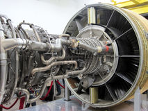 Jet/ plane engine, turbine... Royalty Free Stock Photos