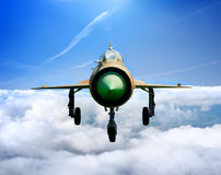 Jet plane MiG Royalty Free Stock Photo