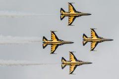 Jet plane show Royalty Free Stock Photos