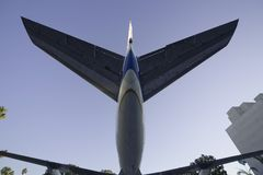 Jet Plane Tail 2 Royalty Free Stock Images