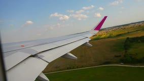Jet Plane Taking apagado almacen de metraje de vídeo