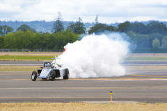 Jet Powered Car Royalty Free Stock Photos