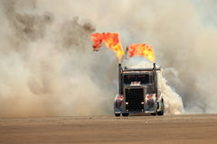 Jet Powered Truck Stock Photo