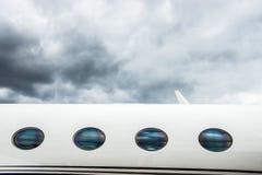 Jet privé de VIP Photographie stock libre de droits