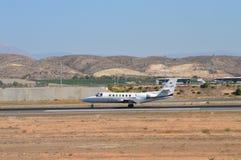 Jet privado Fotografía de archivo