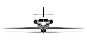 Jet privado stock de ilustración