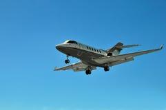 Jet privado del asunto corporativo Fotografía de archivo libre de regalías