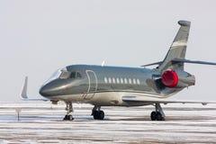 Jet privado embalado Fotografía de archivo libre de regalías