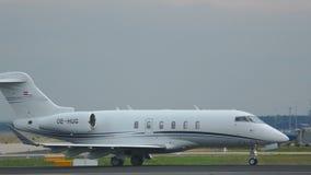 Jet privado en el ejecutivo metrajes