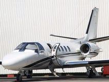 Jet privato 01 Fotografie Stock