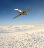 Jet privato di Ligfht Fotografia Stock