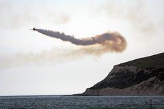 Jet rosso della freccia fotografie stock libere da diritti