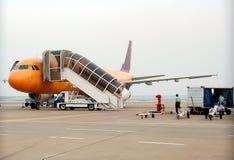 jet samolot landed5 Obrazy Royalty Free