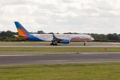 Jet2 semestrar Boeing 757 Arkivfoto