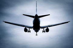 Jet silhouette Royalty Free Stock Photography