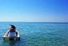 Jet ski. On the sea Stock Photography