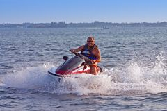 Jet Ski 2 Royalty Free Stock Photos