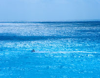 Jet Ski. In the waters off of Cancu Mexico Royalty Free Stock Image