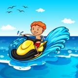 Jet Ski royalty-vrije illustratie