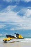 Jet Ski. On a tropical beach Stock Photography