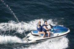 Jet ski in Acapulco Stock Images