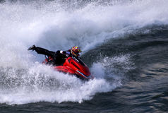 Jet ski attractions at a carnival-1 Stock Photos