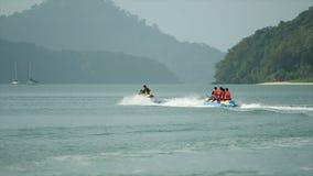 Jet Ski And Banana Boat stock video