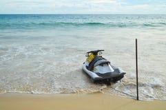 Jet ski on the Beach Royalty Free Stock Photo
