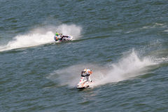 Jet Ski Competition Stockfotos