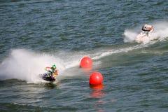 Jet Ski Competition Lizenzfreies Stockbild