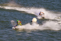 Jet Ski Competition Royalty Free Stock Photos