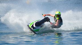 Jet Ski competitor Royalty Free Stock Images