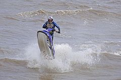 Jet Ski stock afbeeldingen