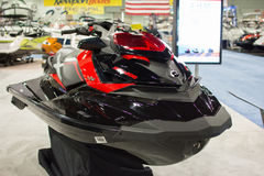 Jet Ski on display at the Los Angeles Boat Show on February 7, 2 Stock Images