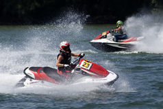Jet Ski driver in an attractive ride-4 Stock Photography