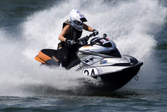 Jet Ski driver in an attractive ride-5 Stock Photo