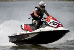 Jet Ski driver Royalty Free Stock Images